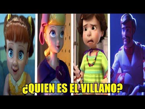 ¿QUIEN es EL VERDADERO VILLANO en TOY STORY 4?   TOY STORY 4