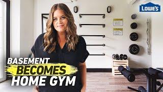 Transform Your Basement Into A Home Gym | Home Becomes (Ep 2)