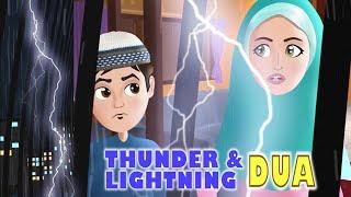 Abdul Bari scared of Thunder & Lightning Dua with Ansharah English Version