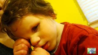 SEVEN YEAR OLD SAYS FIRST WORD ( Daily Vlogs 4.18.15 )