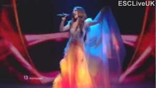 "Eurovision 2012 (Grand Final): Azerbaijan: Sabina Babayeva - ""When the Music Dies"""
