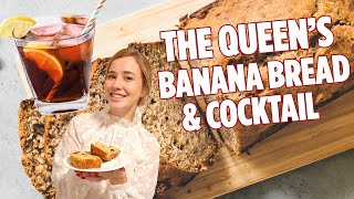The Queen's Banana Bread and Cocktail   Banana Bread Recipe   We Tried It