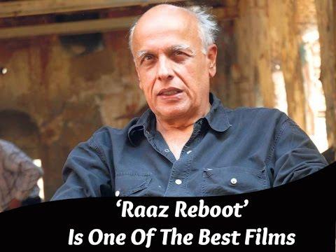 Exclusive   'Raaz Reboot' Is One Of The Best Films Of Raaz Franchise, Says Mahesh Bhatt