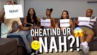 CHEATING OR NAH?! Pt. 1