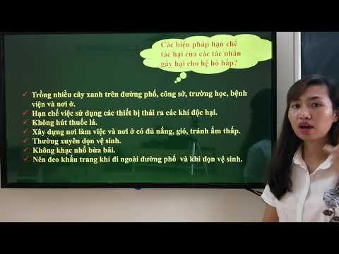 Tiết 2: Ôn tập sinh học 8 ( cô Nhung THCS TT Cao Thuong)