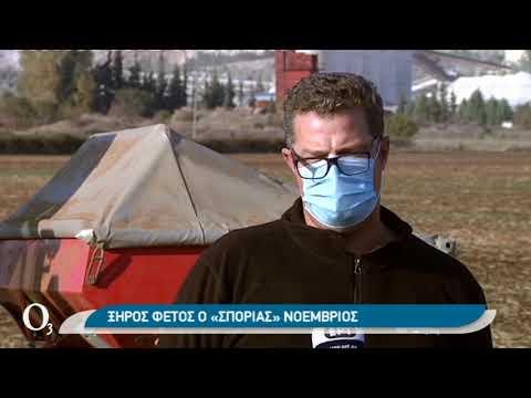 Σε απελπισία οι αγρότες εξαιτίας της ανομβρίας | 27/11/2020 | ΕΡΤ