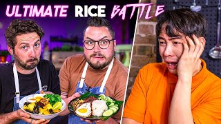 Ultimate Rice Battle ft. UNCLE ROGER & Michelin Star Chef ELIZABETH HAIGH!! | SORTEDfood