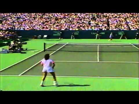 Chris Evert vs Gabriela Sabatini 1989 Lipton final