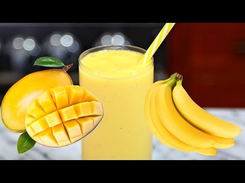 Video MANGO BANANA SMOOTHIE