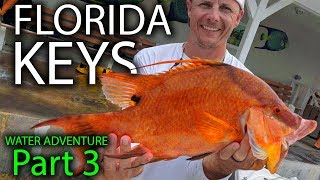 HOGFISH Catch And Cook   BEST Fish To Eat In The Ocean    Florida Keys Water Adventure Part 3
