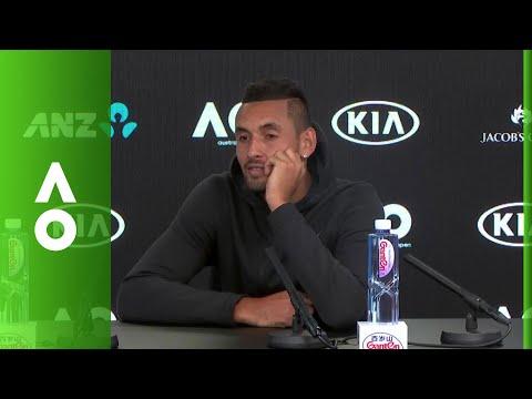 Nick Kyrgios press conference (4R) | Australian Open 2018