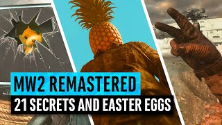 Modern Warfare 2 Remastered | 21 Secrets and Easter Eggs