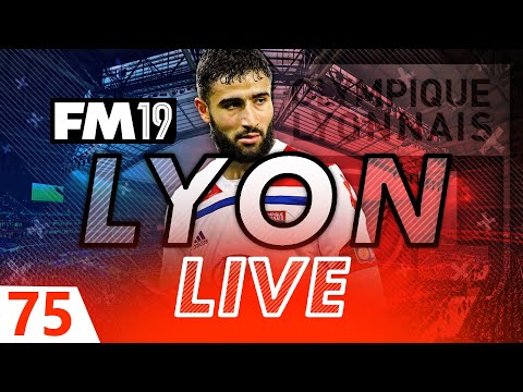 Football Manager 2019 | Lyon Live #75: SELLING FEKIR?! #FM19