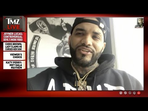 Joyner Lucas Defends Controversial 'Devil's Work' Video | TMZ Live