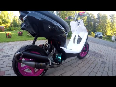 Mbk Booster Rocket 50cc review