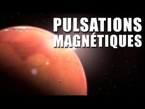 Des pulsations magnétiques sur MARS ! EC