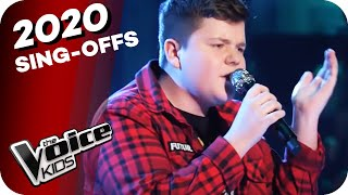 Guns N Roses - Welcome To The Jungle (Marc) | The Voice Kids 2020 | Sing Offs