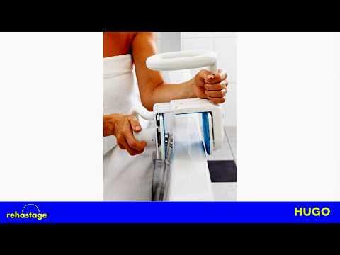 Maniglione di sicurezza per entrare e uscire dalla vasca da bagno - innovativa