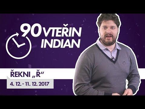 """90VTEŘIN #S03E36: ŘEKNI """"Ř"""" (4. 12. - 11. 12. 2017)"""