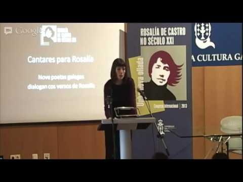 Presentación do recital Cantares para Rosalía