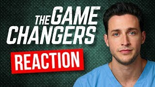 "Real Doctor Reacts to The Game Changers ""VEGAN"" Documentary"