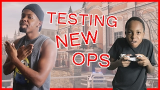 Rainbow Six Siege - TESTING OUT THE NEW OPS! (RB6 Siege Casual Multipayer)