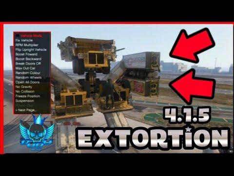 GTA V - Mod Menu EXTORTION 4 1 5 + DOWNLOAD - Dudu Modz ツ