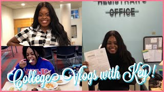 College Vlog: first week of class + declaring my minor + getting shmoney + parties! ♡