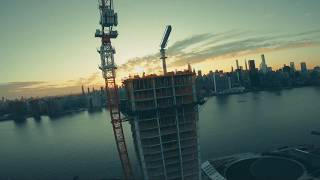 The poetry of a dive / checking off New York City's FPV bucket list one sunset at a time.
