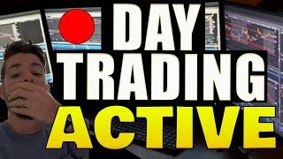 🔴 DAY TRADING LIVE THE MARKET OPEN! News + Stock Market Scanner (Trade Ideas)