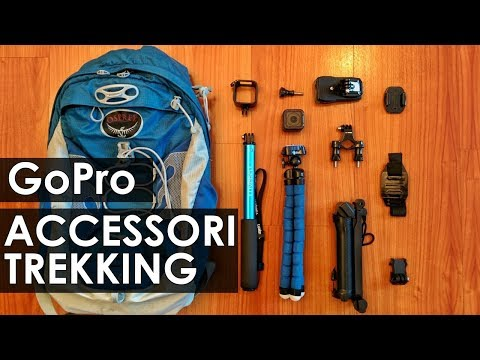 GoPro - I migliori accessori per il TREKKING