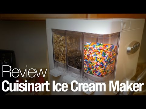 "Video How to use the Cuisinart ""Mix it In"" ICE-45 Soft Serve Ice Cream Maker"