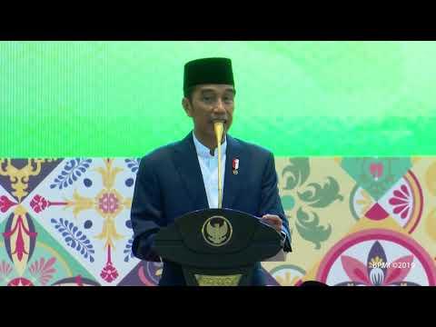 Presiden Jokowi Buka Puasa Bersama dengan Keluarga Besar TNI Polri, Jakarta, 16 Mei 2019