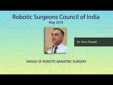 Range of Robotic Bariatric Surgery