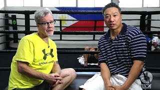 Freddie Roach Interview at Wild Card Boxing Club - UCN Exclusive