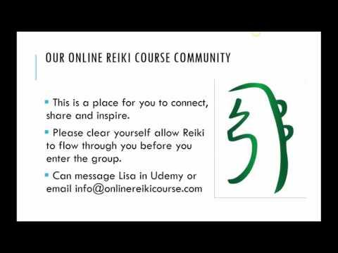 Online Reiki Course Facebook Community Guidelines