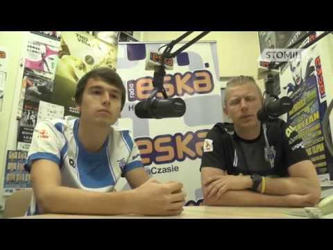 Piotr Skiba oraz Jarosław Ratajczak w Radiu Eska