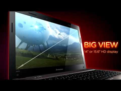 Lenovo IdeaPad Y470/Y570 laptop tour