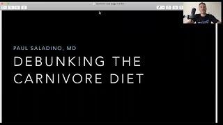 Dr. Paul Saladino - 'Debunking The Carnivore Diet'