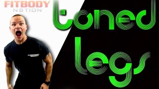LEGS are for FLEXIN... Leg Toner by Trainer Ben