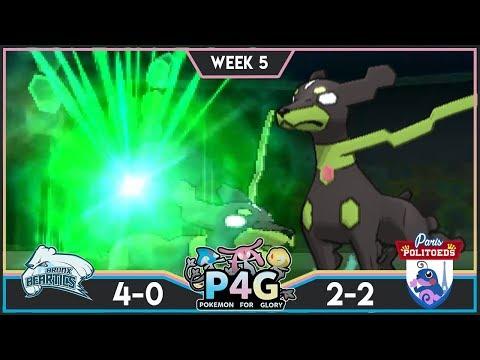 FLYING ARROWS! Bronx Beartics vs Paris Politoeds! P4G S3W5! Pokemon Ultra Sun & Moon Wi-Fi Battle