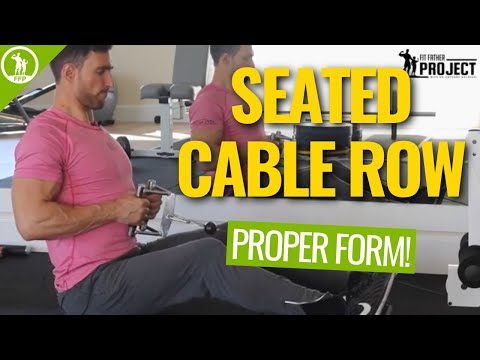 Seated Cable Row – Full Video Tutorial & Exercise Guide