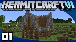 Hermitcraft 6 - Ep. 1: It Begins! | Minecraft 1.13 Survival Multiplayer