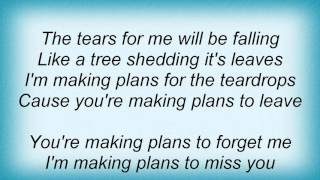 Linda Ronstadt - Making Plans Lyrics