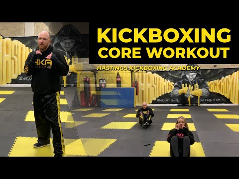 KICKBOXING CORE WORKOUT HKA online Zoom class number 8
