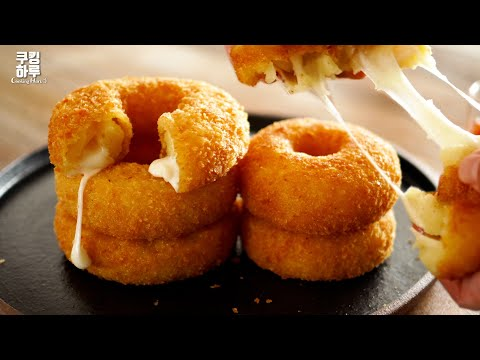 Crispy and Soft?! Potato Cheese Donuts instead of Flour!! Super Delicious