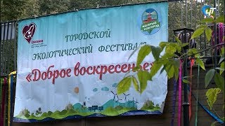 В Великом Новгороде прошел Шестой эко-фестиваль «Доброе воскресенье»