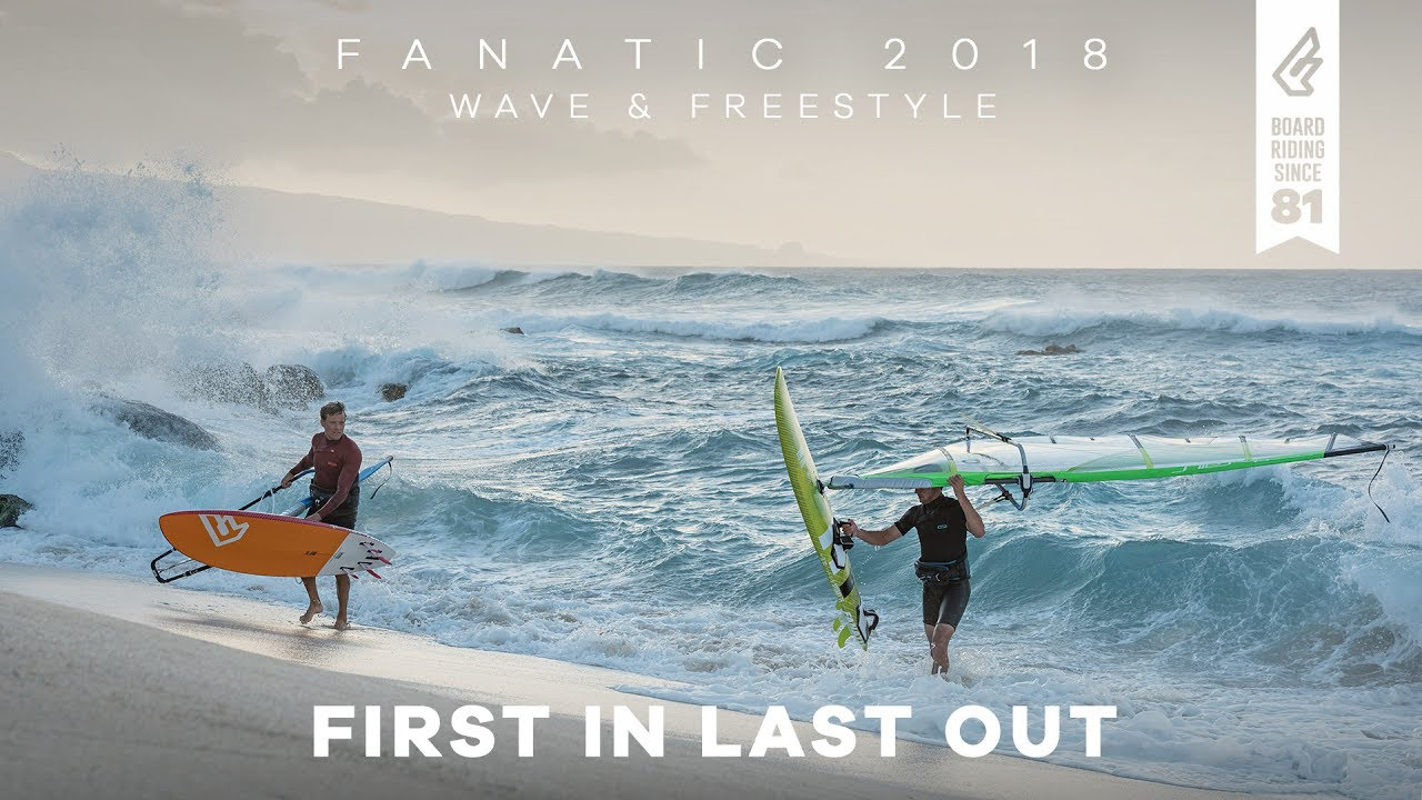 FIRST IN LAST OUT – Fanatic Highlights Wave & Freestyle Range 2018