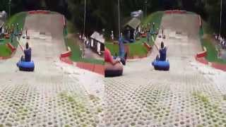 preview picture of video 'Donutting at Alpine Snowsports Centre Aldershot 3D'