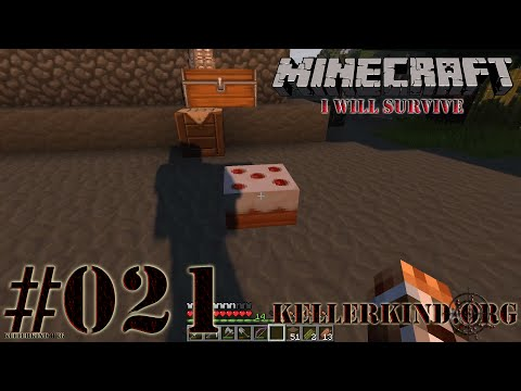 Minecraft: I will survive #021 - Speedys Kochstudio ★ Let's Play Minecraft [HD|60FPS]